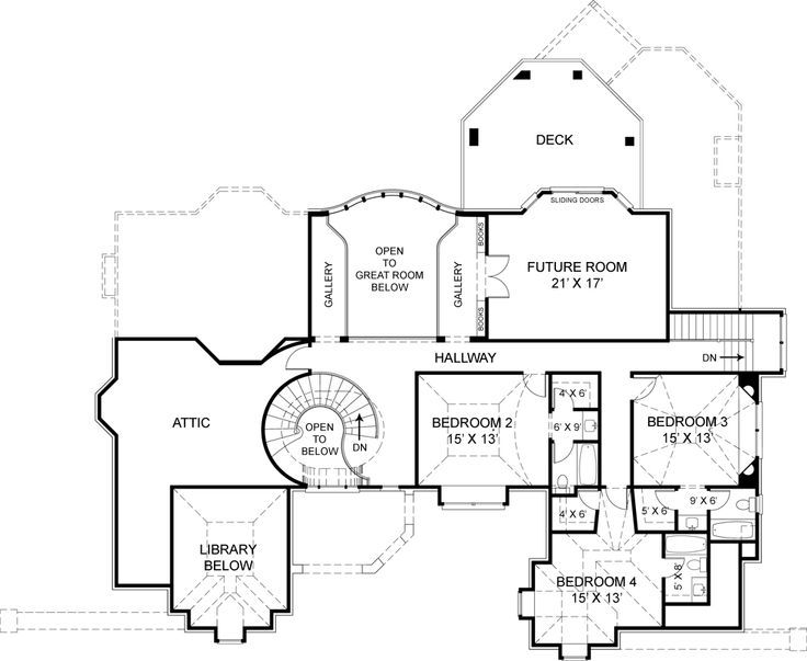 Pontarion II House Plan - 6002 Holy Shit Batman this house is huge ...