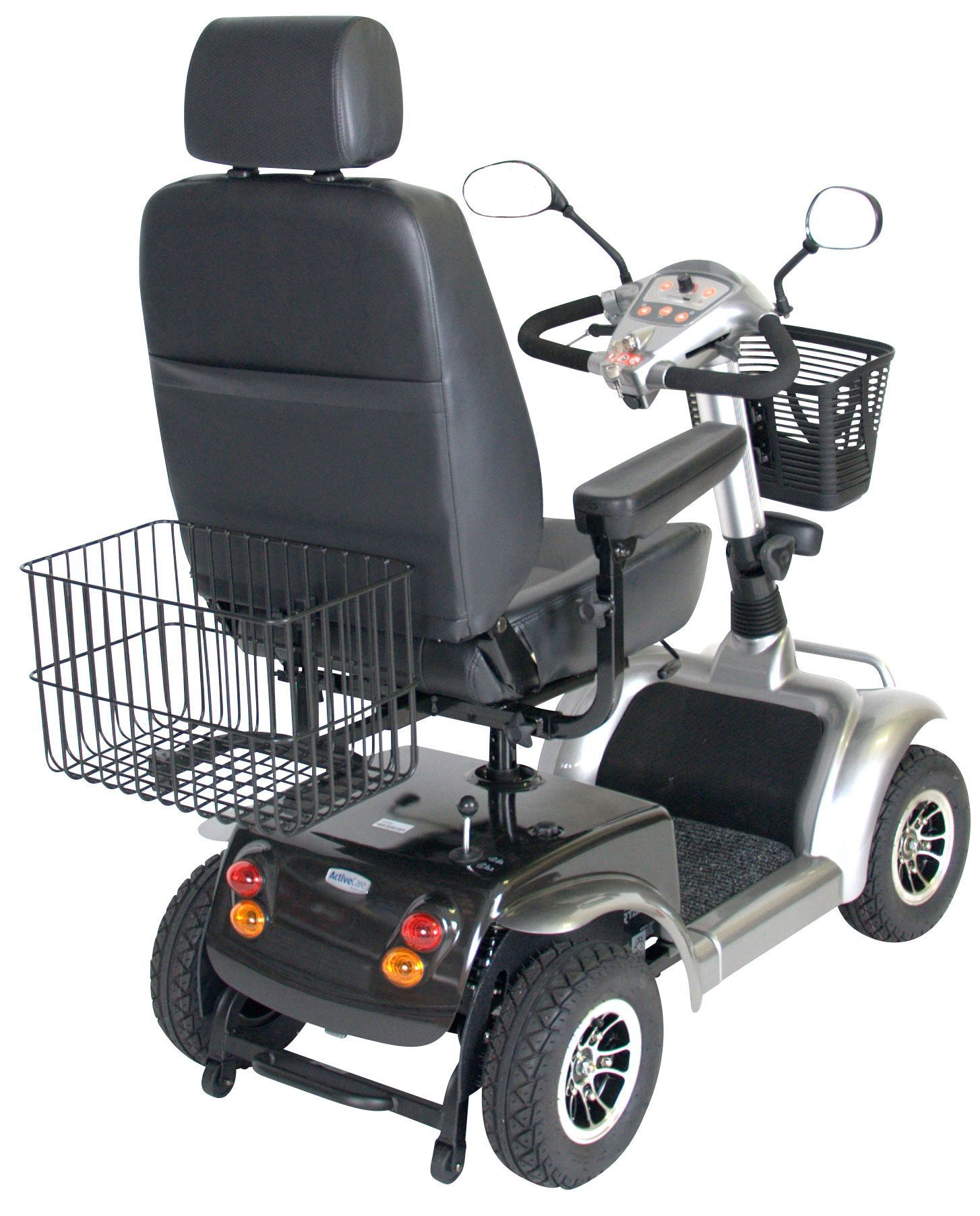 Power Mobility Rear Basket | Accessibility | Powered wheelchair
