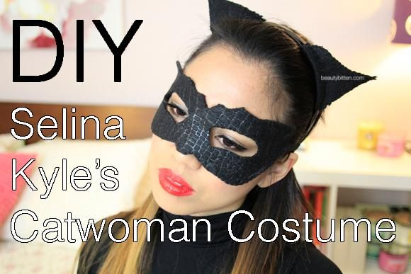 DIY Tutorial: DIY Halloween Costume / DIY Batman Mask - Bead&Cord