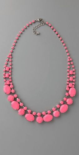 colar rosa necklace