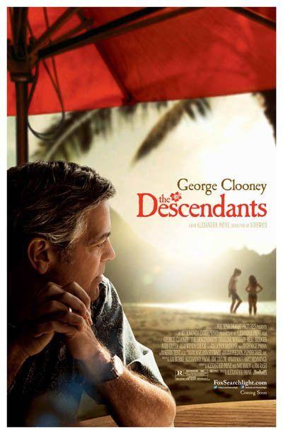 The Descendants Clooney Alexander Payne Movie Poster 11x17 The Descendants Movie The Descendants 2011 George Clooney