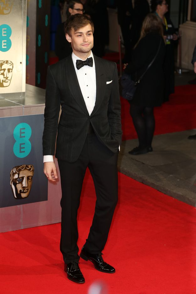 Douglas Booth | 15 Beautiful Men Who Graced The 2014 BAFTAs Red Carpet