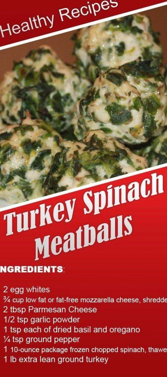 Best Ground Turkey Meatball Recipe On Pinterest in 2020