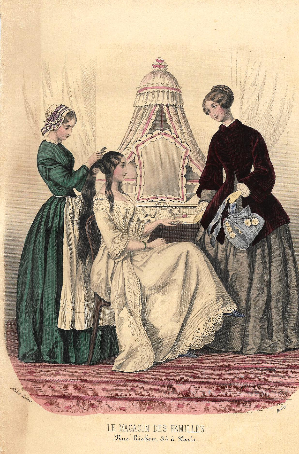 Le Magasin des Familles Fashion Plate - 1850