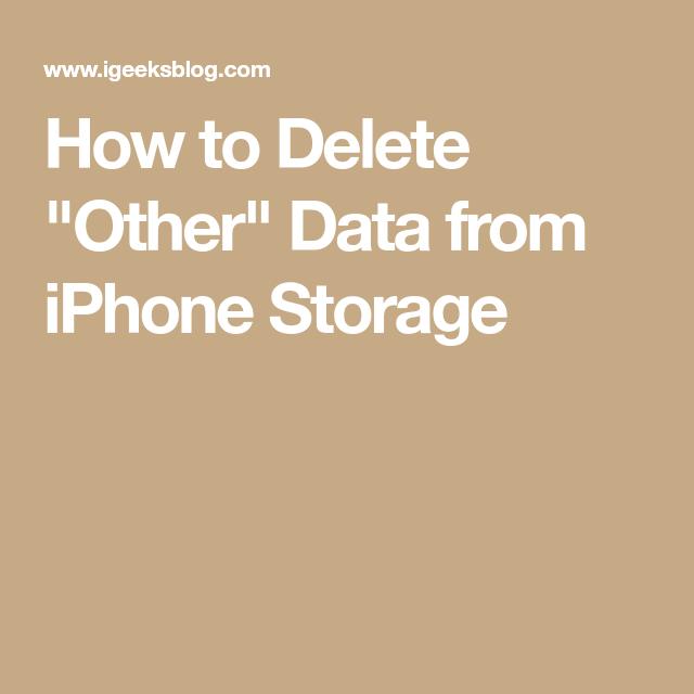 e4428514d7a5c7e1073ad7aa4f28e8e9 - How To Get Rid Of Other On My Iphone Storage