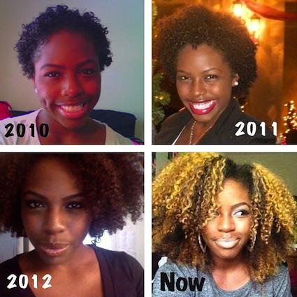 Natural hair growth retention
