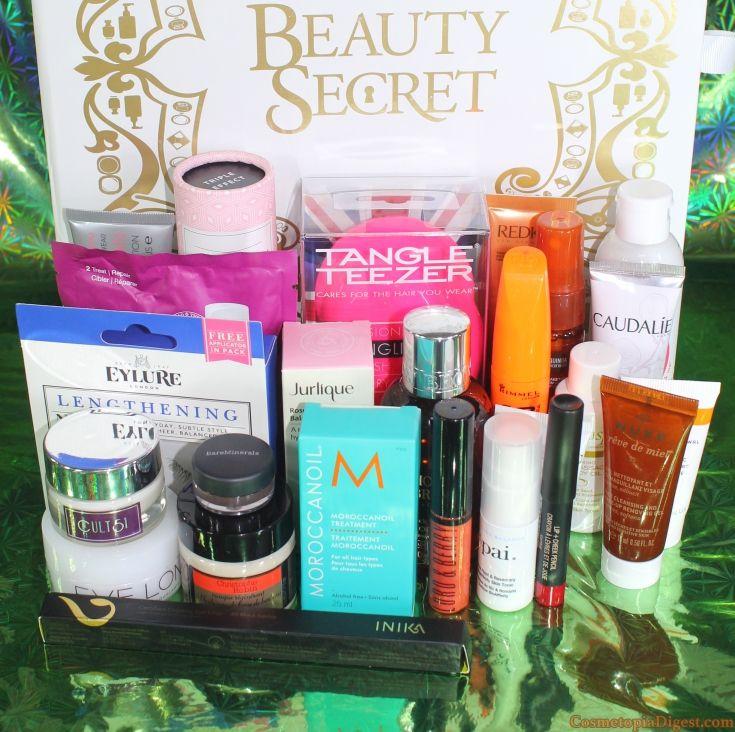 Lookfantastic Beauty Secret Advent Calendar 2015 Review Beauty