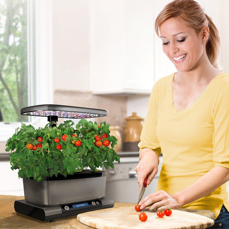 AeroGarden Harvest Elite with Gourmet Herb Seed Pod Kit