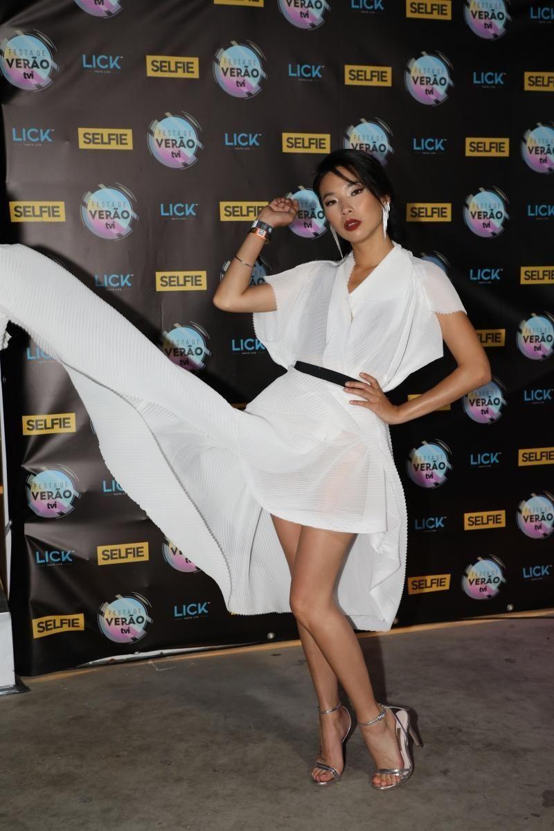 Jani Zhao Como Susana Wang Anna Eremin Como Catia Sobral Em Jogo Duplo Dupla Jogos