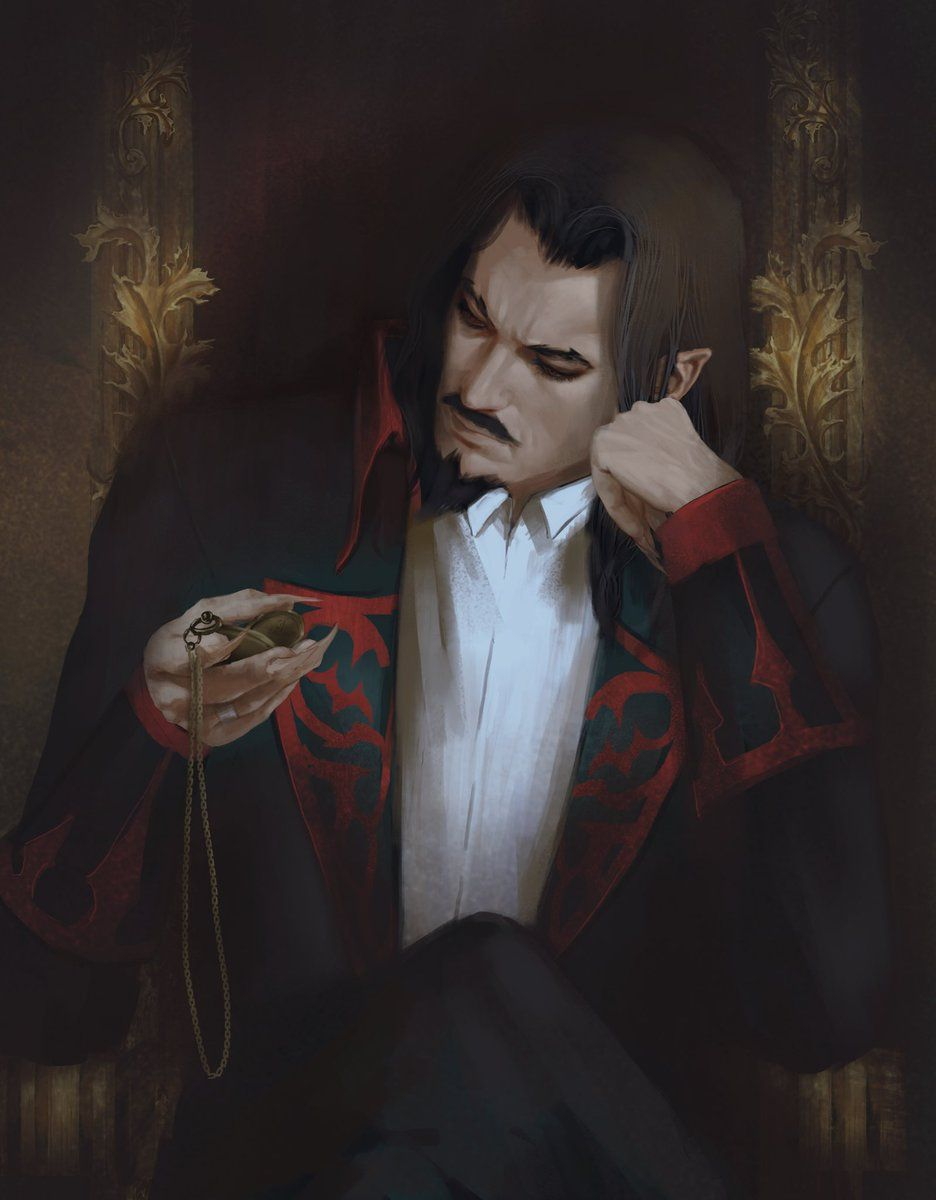Atu آتو On Twitter Dracula Art Vampire Art Alucard
