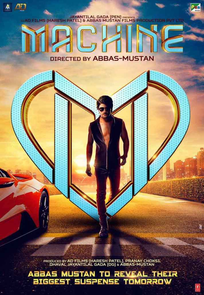 Machine 2017 Movie Wallpapers (5) | Blue Jano | Hindi movies