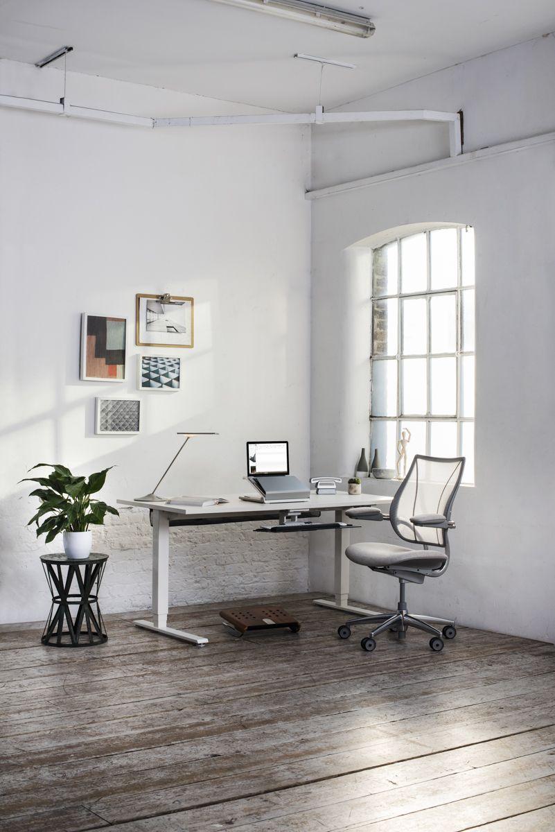 Athena desk by Polflex | Γραφεία // Office | Pinterest | Desks