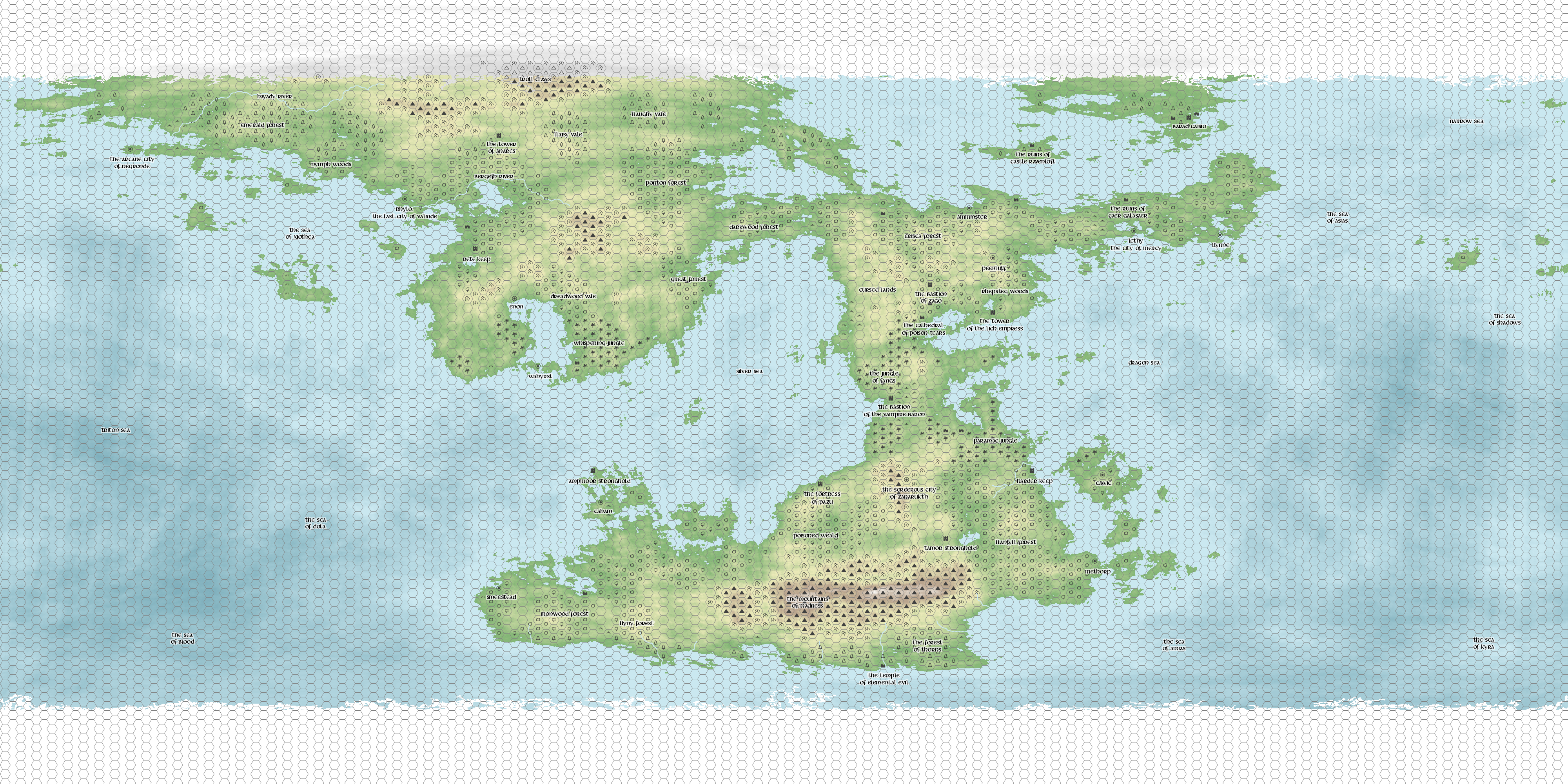 I generated a map using httpdonjonnfantasyworld maps fantasy world generator gumiabroncs Image collections