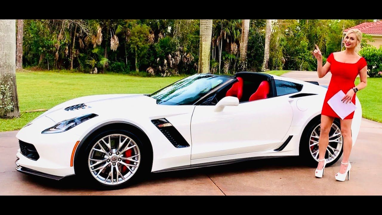 The Last C7 Will Be A Black Z06 Coupe With Adrenaline Red Trim