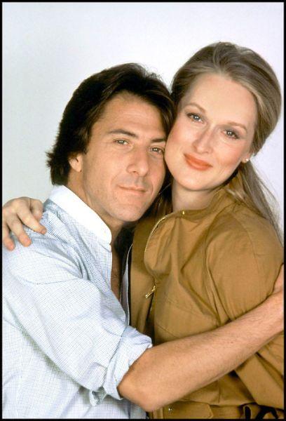 Streep and Dustin Hoffman, 'Kramer vs Kramer', 1979.