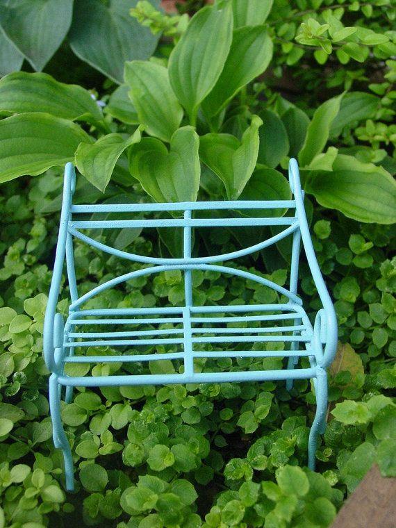 "Miniature Fairy Garden Dollhouse 2.35/"" x 1.5/"" Lime Green Tricycle Bike"