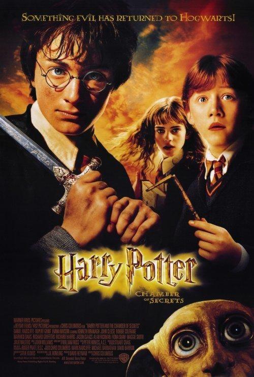 Affiche du film harry potter et la chambre des secrets - Harry potter et la chambre des secrets en streaming gratuit ...