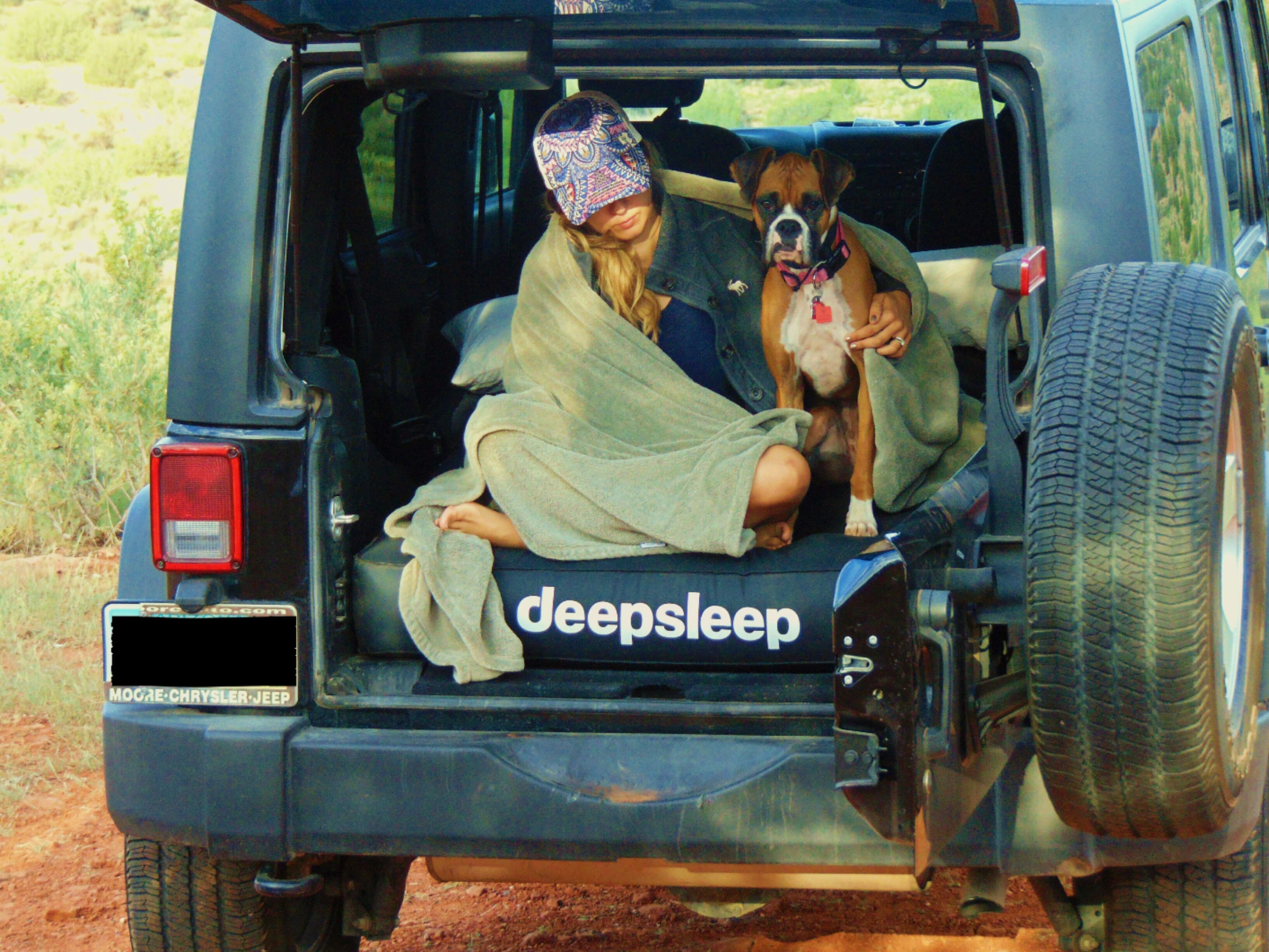 Deepsleep Is A Contoured Air Mattress Customized For Jeep Wranglers Jk It Is An Accessory Made For Camping Or Re Jeep Wrangler Camping Jeep Camping Beach Jeep