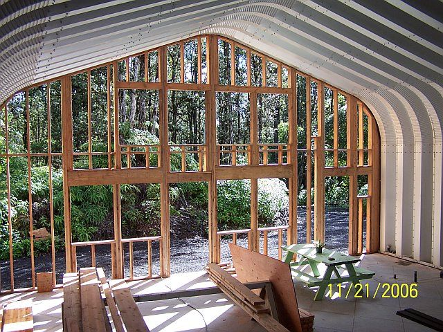 Steel building home future buildings quonset for Quonset hut home designs