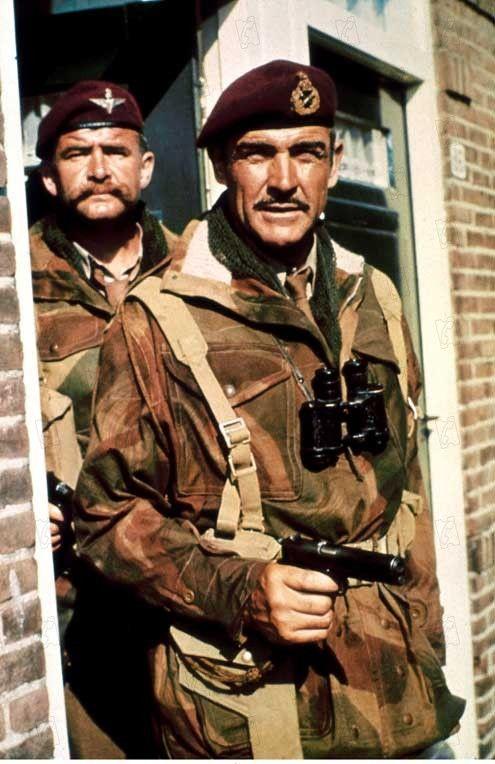 Sean Connery In A Bridge Too Far Sean Connery Movie Stars War Movies
