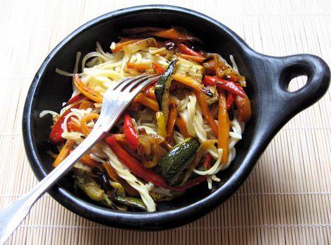 CulinoTests - Légumes grillés au four  Miam ........ :)