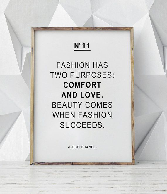 Hey, I found this really awesome Etsy listing at https://www.etsy.com/listing/267473701/coco-chanel-quote-print-motivational