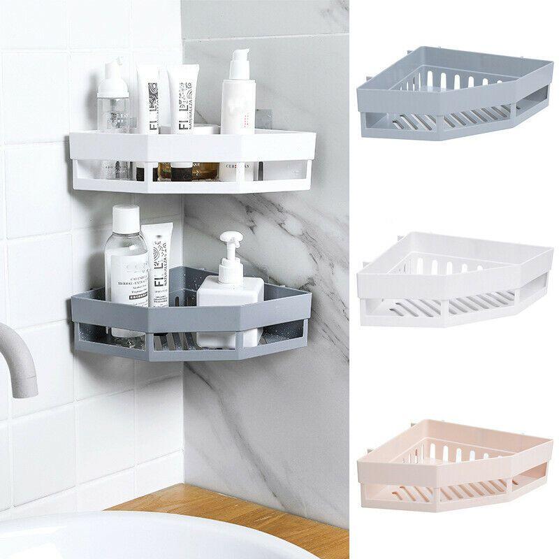 Corner Storage Rack Holder Shelves Bathroom Organizer Triangular Shower Shelf Us 6 79 Cool Bathroom Storage Ideas Of Bathroom Storage Bathroomstorage In 2020