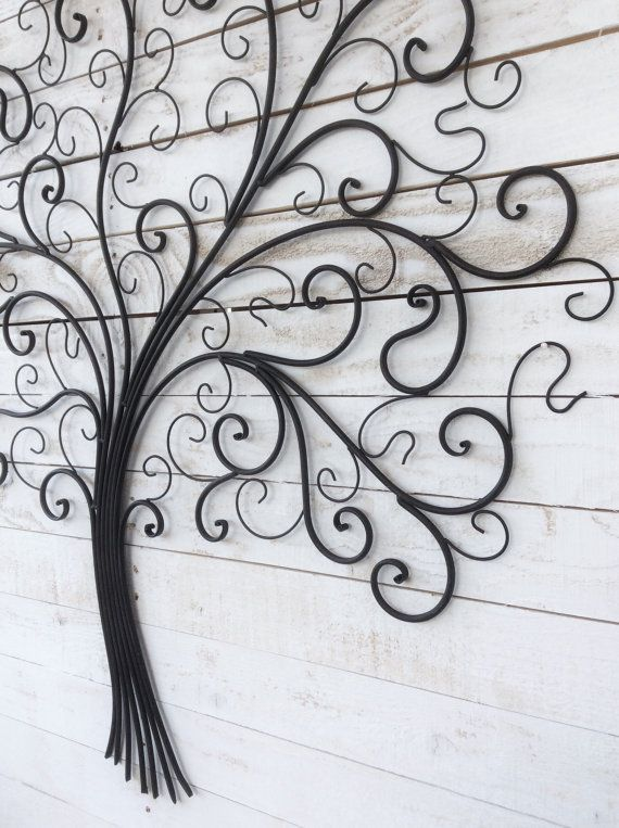 metal tree wall decor iron tree large