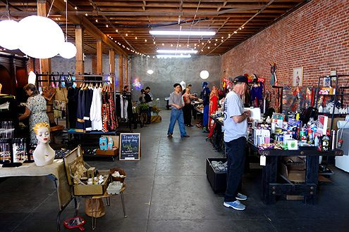 Indoor Flea Markets Arts District Permanent Weekly Market Launches In