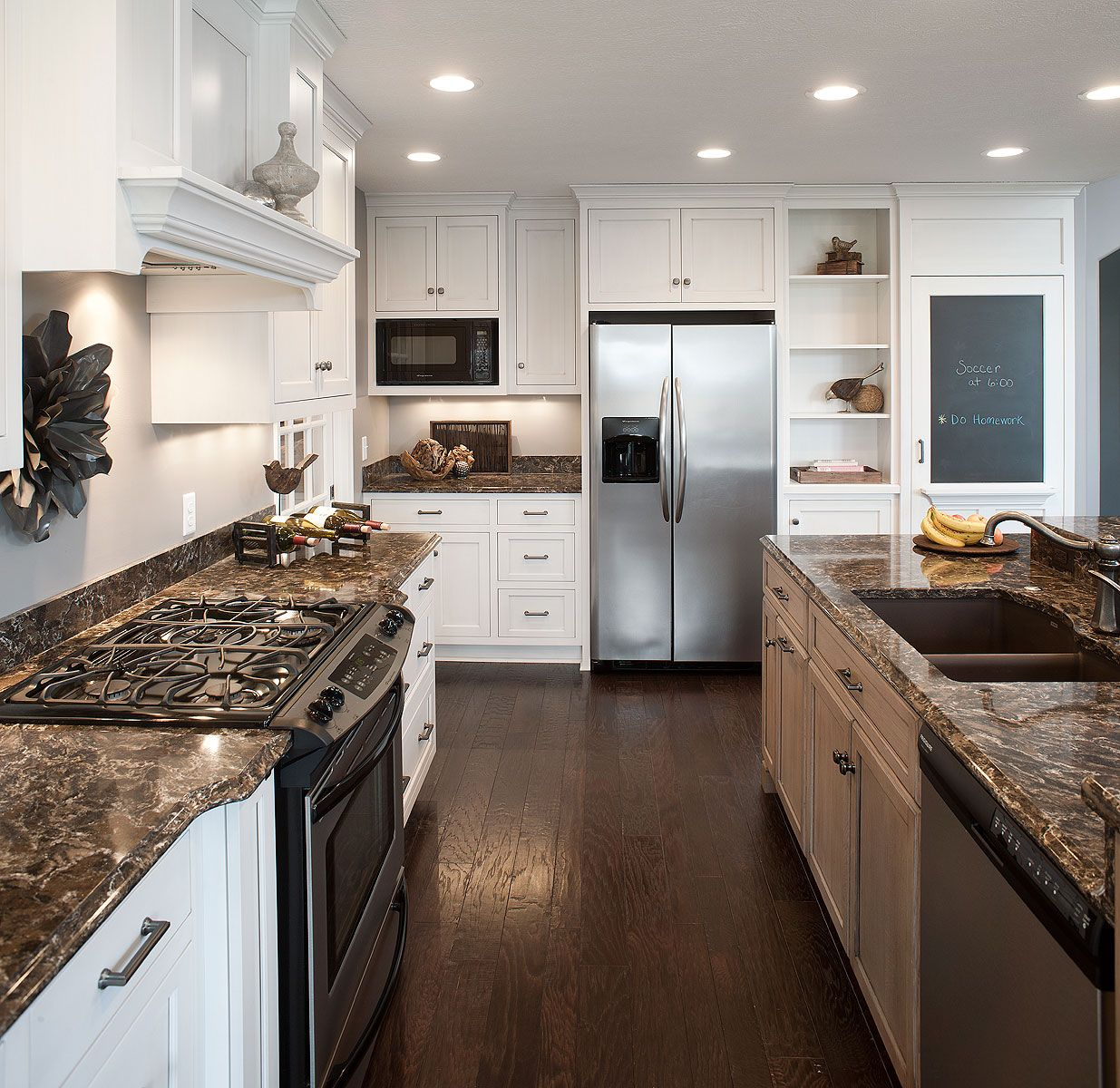 White Kitchens With Quartz Countertops: Kitchen Appliance Layout By Mullet Cabinet In Millersburg