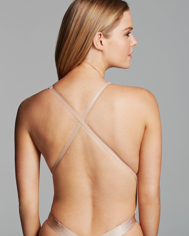 e5dea537cb Fashion Forms U Plunge Backless Strapless Bodysuit