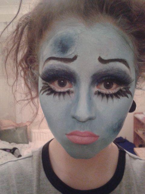 Corpse Bride Emily Makeup Tutorial - YouTube | makeup | Pinterest ...