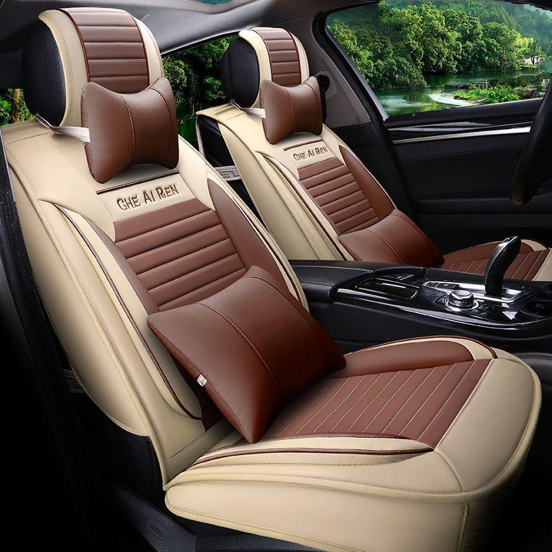 Car Styling Leather Seat Covers For Renault Koleos Kadjar Captur Fluence Latitude Talisman Laguna MEGANE