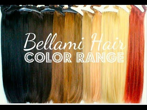 How To Pick Your Perfect Color of Clip-In Extensions  BELLAMI HAIR - Cant  decide what color to get! 10aec21c34