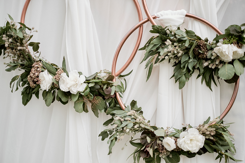 A Perfect Combination Of Greenery Herbs And Flowers Greenery Flowers Wedding