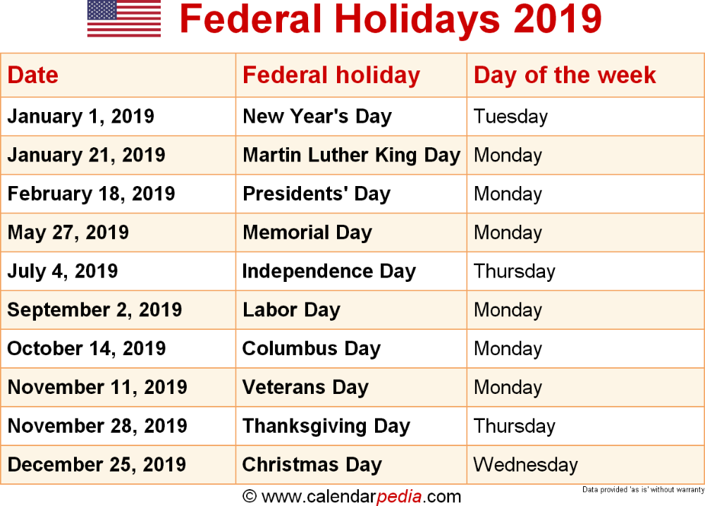 Holiday Calender Google Search Federal Holiday Calendar Holiday Calendar Printable Us Holiday Calendar