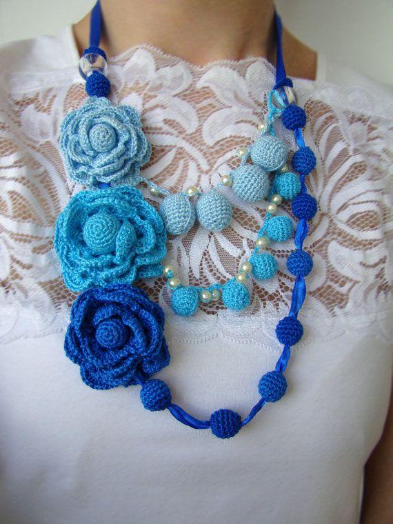 Beautiful Blues - Crochet Uniquely by Gay Preece on Etsy