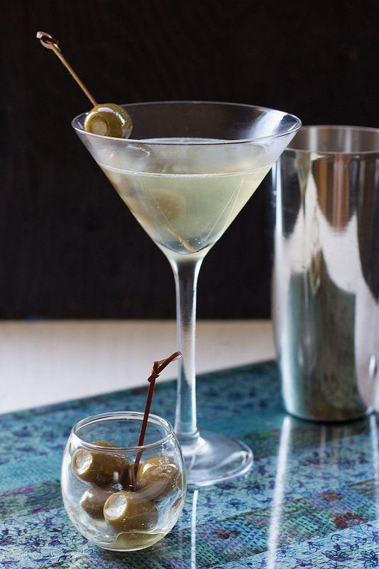 Extra Dirty Vodka Martini |