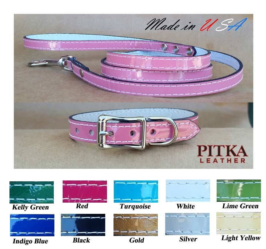 Details about small dog collars and dog leashes cute