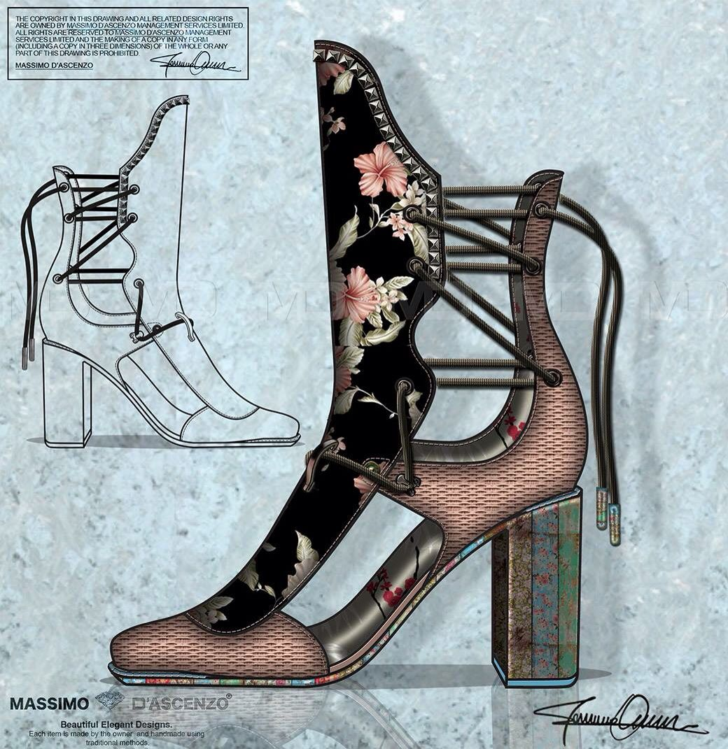 'MD' Massimo D'ascenzo Beautiful Designs. MUMIT FOOTWEAR BY Massimo D'ascenzo.   'MUMIT'   Instagram@massimodascenzo  www.massimod.com  #luxury#jewellery#handbags#love#fashionAddict.  https://www.facebook.com/pages/ Massimo-Dascenzo-Luxury-Jewellery-Handbags/485052561622939?ref=hlj