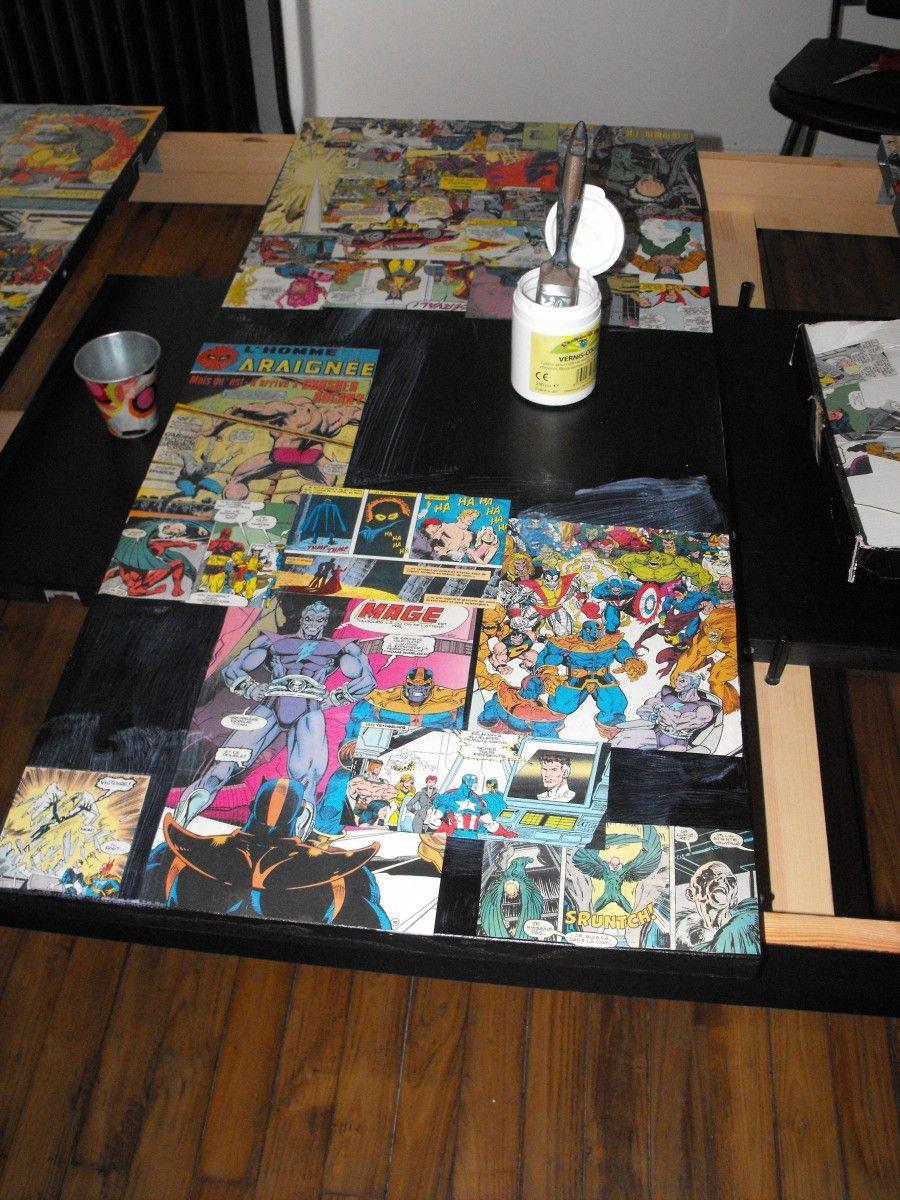 Table De Salle A Manger Ikea Customisee Ikea Table Kitchen