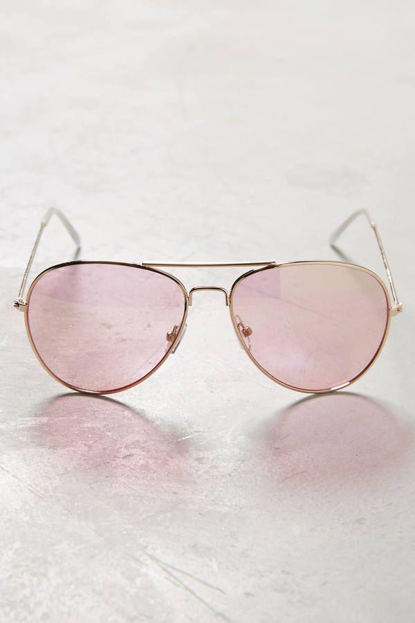 2fb0bfef915 Anthropologie Farrah Aviator Sunglasses