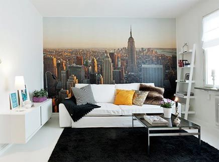 Fotobehang New York in slaapkamer | Home | Pinterest | Bedrooms