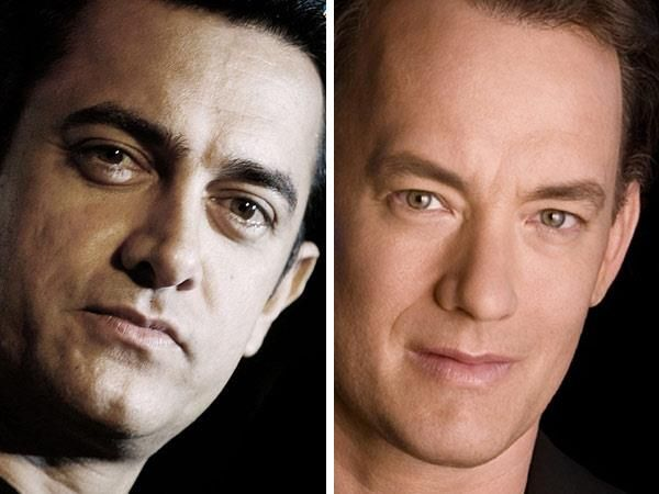Aamir Khan And Tom Hanks Bollywood Movies Celebrity Look Alike