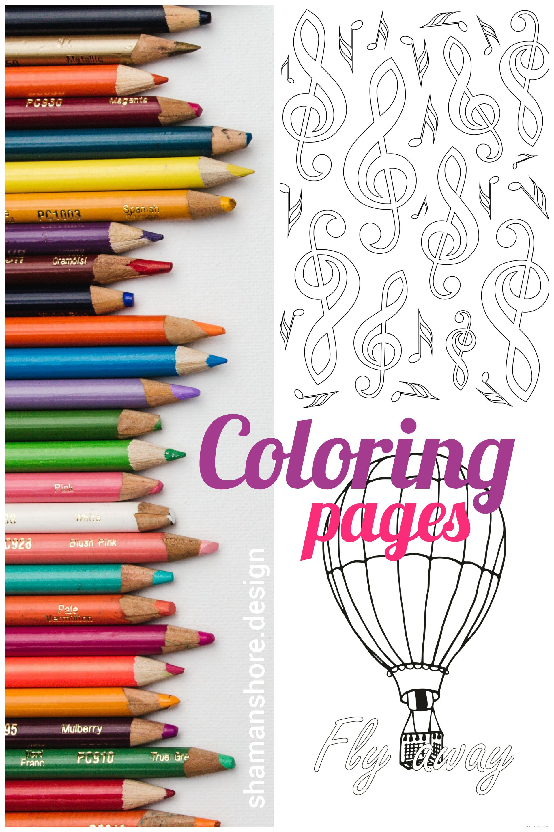 Digital Adult Coloring Book Pdf 20 Simple Adult Coloring Pages