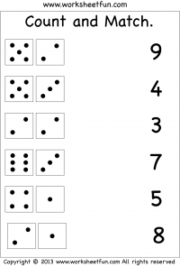 9/27/13 for her count and match | maths kg2 | Pinterest | Mathe ...