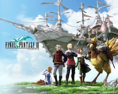 Final Fantasy Iii Wallpaper Final Fantasy 3 Final Fantasy