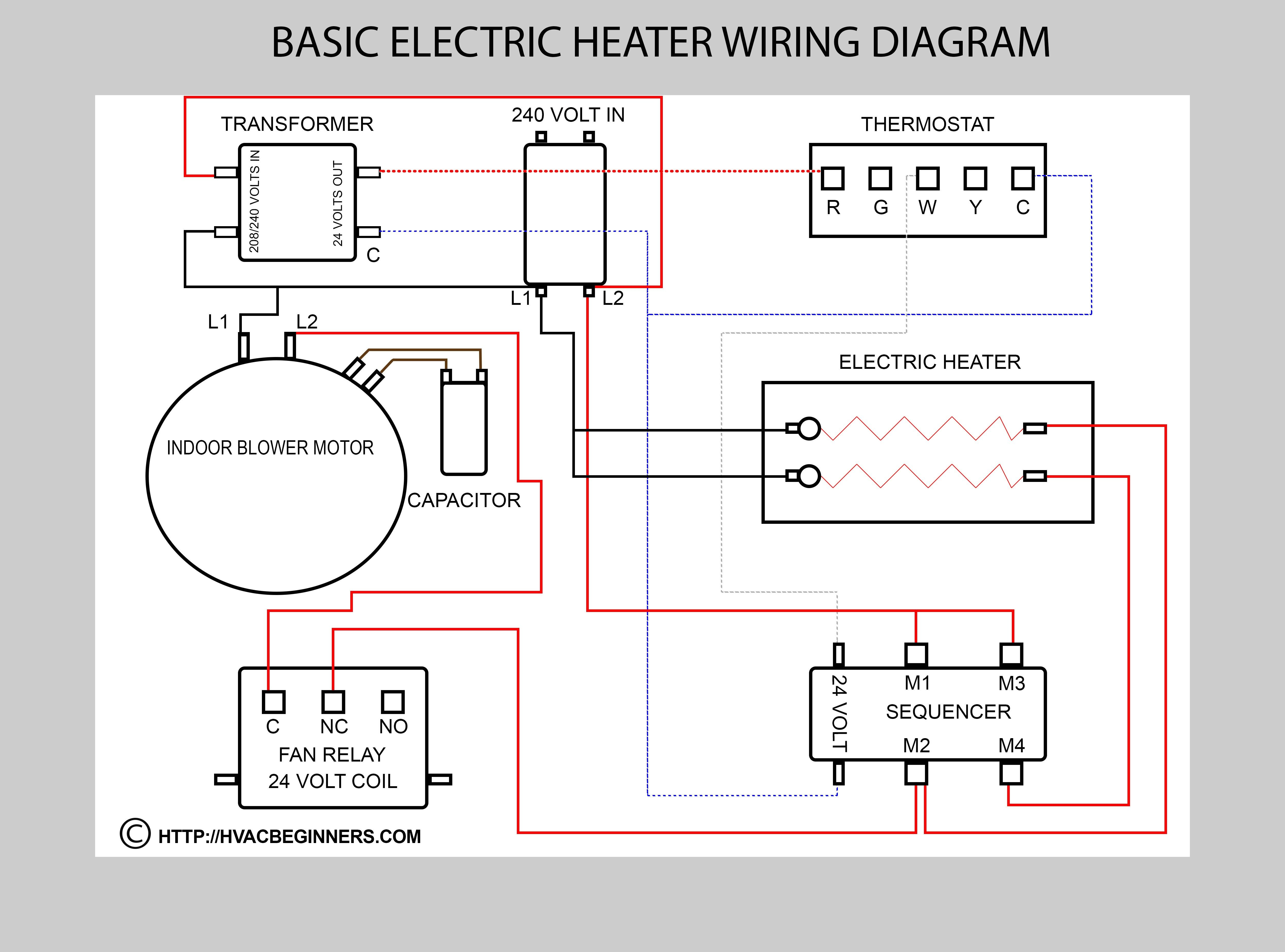 How To Add A C Wire An Old Lennox System Home Improvement For New Within Furnace Thermostat Basic Electrical Wiring Thermostat Wiring Electrical Wiring Diagram