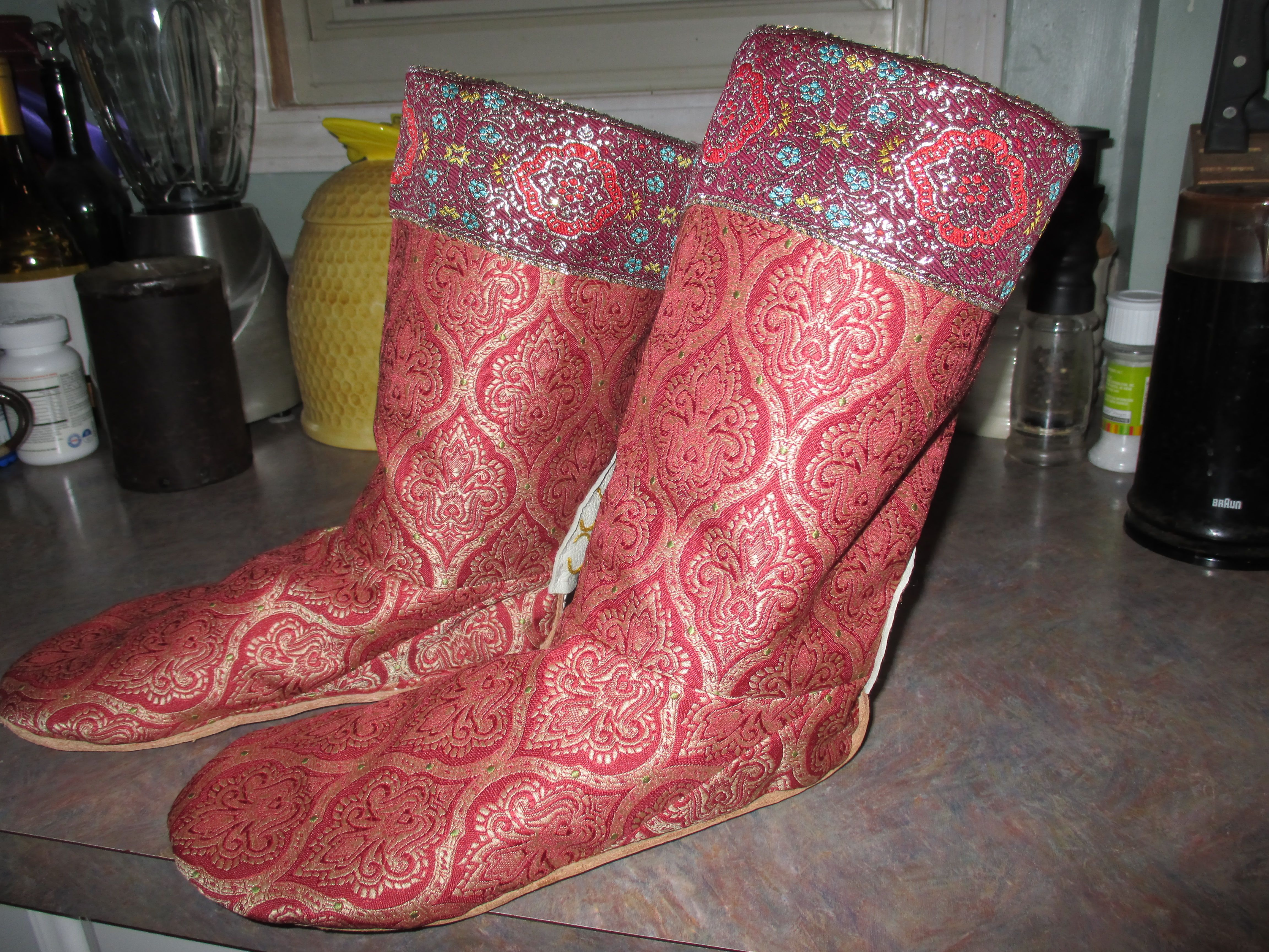 Second pair of boots finished