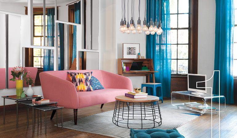 Modern, Colorful Sofas - Modern Couches CB2 apartment ideas